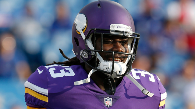 Vikings running back Dalvin Cook