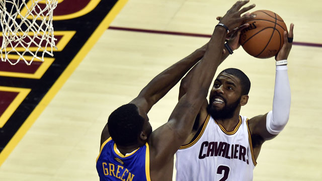 Cleveland Cavaliers guard Kyrie Irving