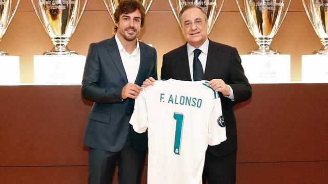Fernando Alonso, Real Madrid