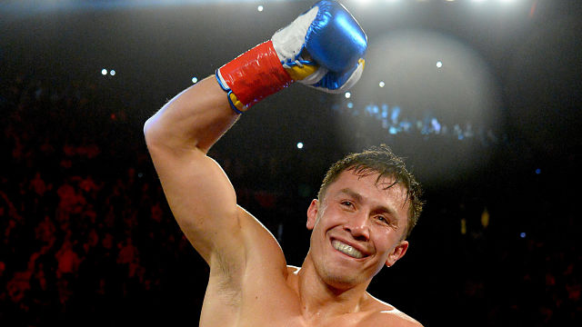 Boxer Gennady Golovkin