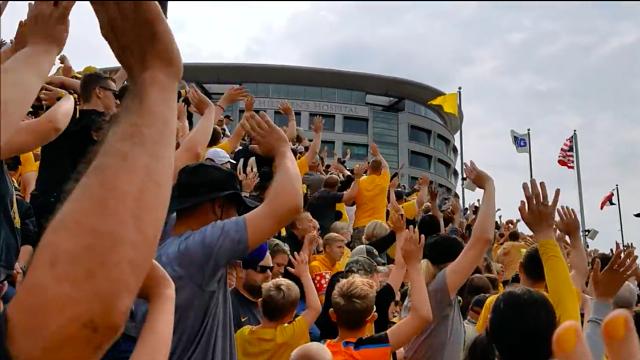 University of Iowa fans