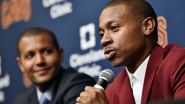 Cleveland Cavaliers player Isaiah Thomas