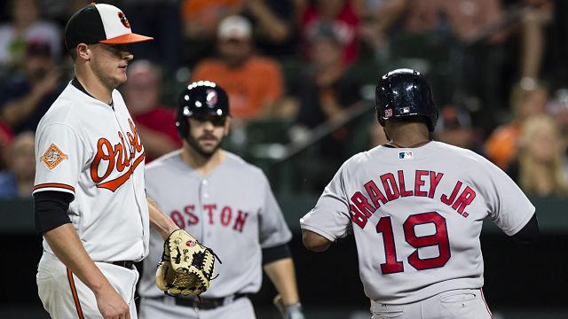 Boston Red Sox center fielder Jackie Bradley Jr