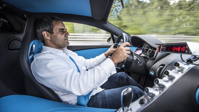 Juan Pablo Montoya, Bugatti Chiron