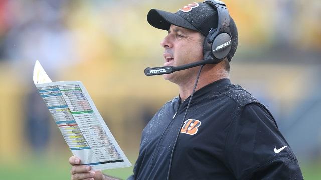 Cincinnati Bengals offensive coordinator Ken Zampese