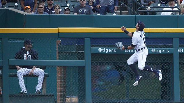 Detroit Tigers outfielder Mikie Mahtook
