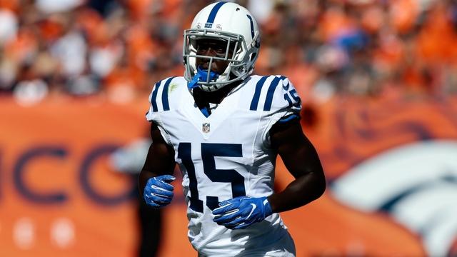 Colts wide receiver Phillip Dorsett
