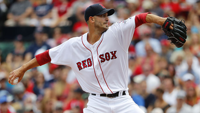 Boston Red Sox pitcher Rick Porcello