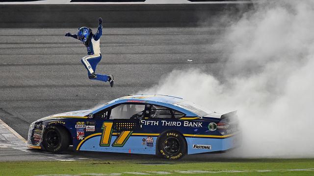 NASCAR driver Ricky Stenhouse Jr.