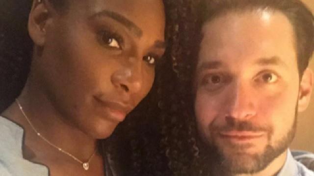 Tennis star Serena Williams, Reddit co-founder Alexis Ohanian