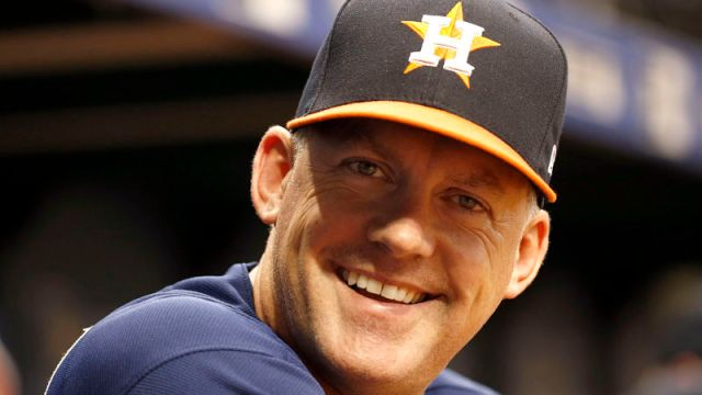 Houston Astros manager A.J. Hinch