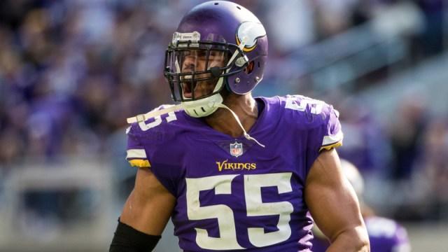 Vikings linebacker Anthony Barr