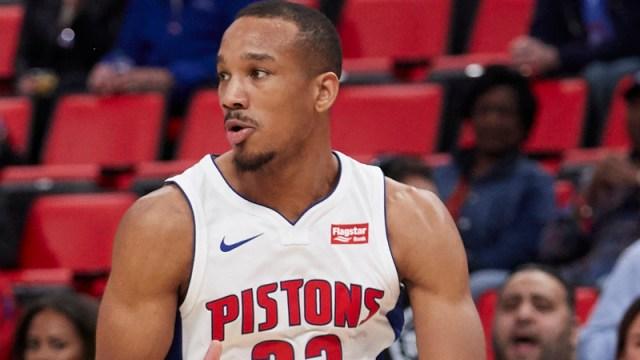 Pistons guard Avery Bradley