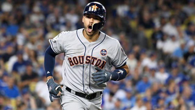 Houston Astros shortstop Carlos Correa