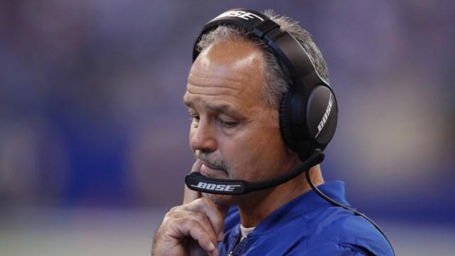 Indianapolis Colts head coach Chuck Pagano