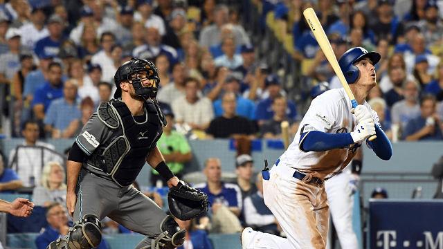 Los Angeles Dodgers first baseman Cody Bellinger