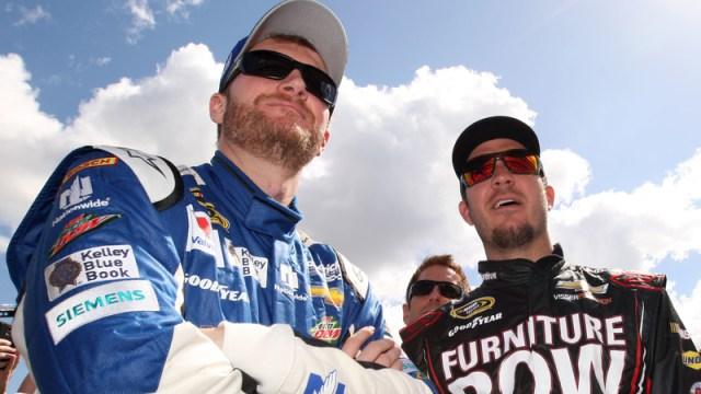 Dale Earnhardt Jr., Martin Truex Jr.