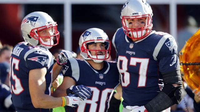 New England Patriots wide receiver Chris Hogan