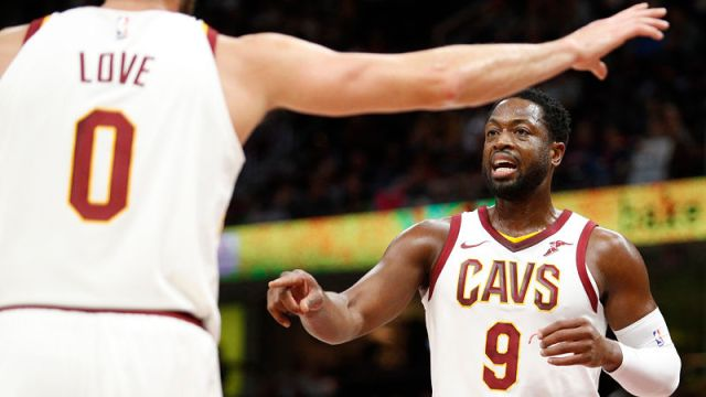 Cleveland Cavaliers guard Dwyane Wade