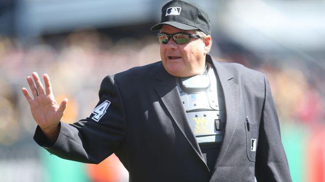 MLB umpire Jerry Layne
