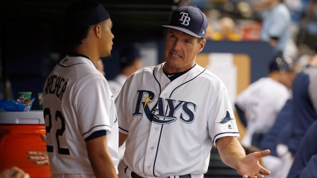 Former Tampa Bay Rays pitching coach Jim Hickey