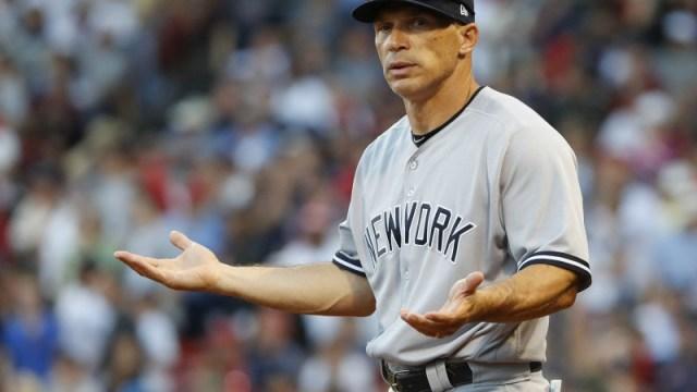 Former New York Yankees manager Joe Girardi