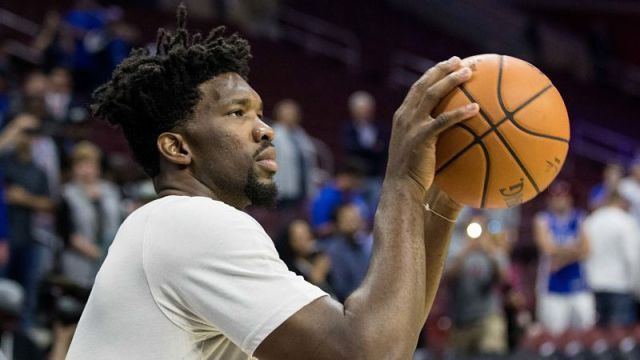 Philadephia 76ers center Joel Embiid