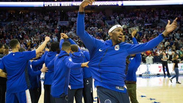 Philadelphia 76ers center Joel Embiid