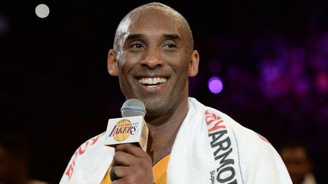 Retired NBA player Kobe Bryant