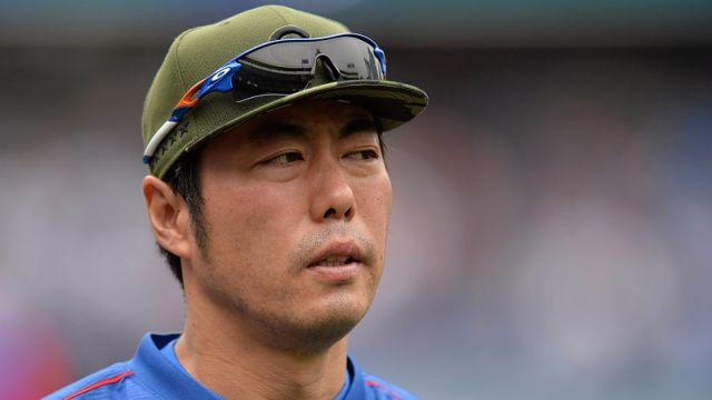 Chicago Cubs reliever Koji Uehara