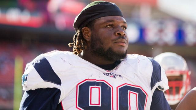 New England Patriots defensive tackle Malcom Brown