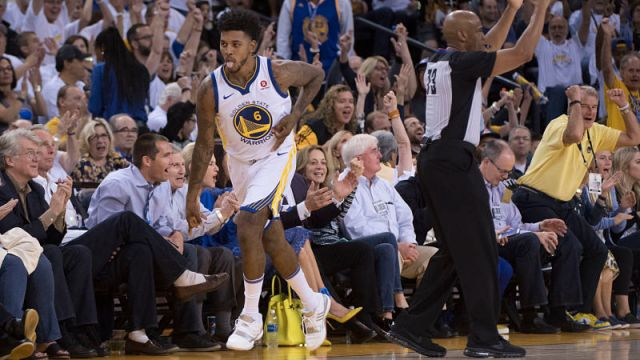 Golden State Warriors guard Nick Young