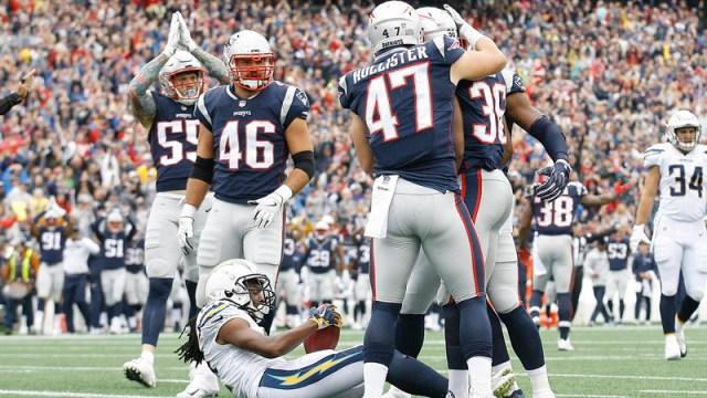 Patriots celebrate safety