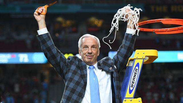 UNC basketball coach Roy Williams
