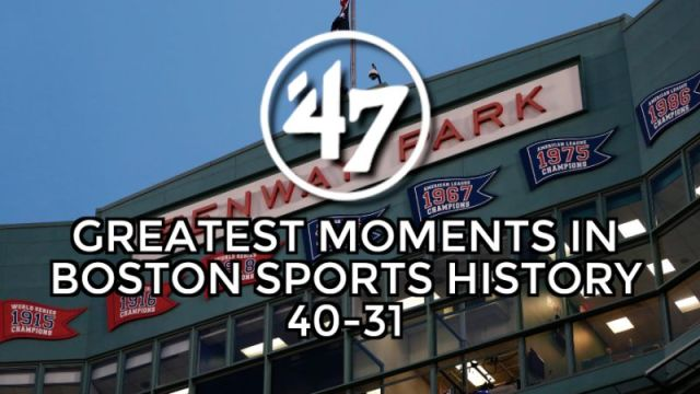 '47 Top 70 Moments: 40-31