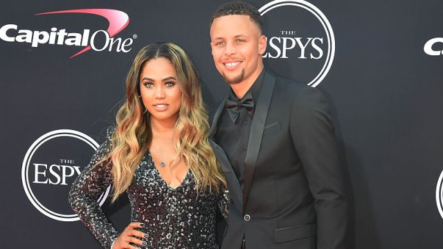 Golden State Warriors guard Steph Curry and his wife, Ayesha Curry