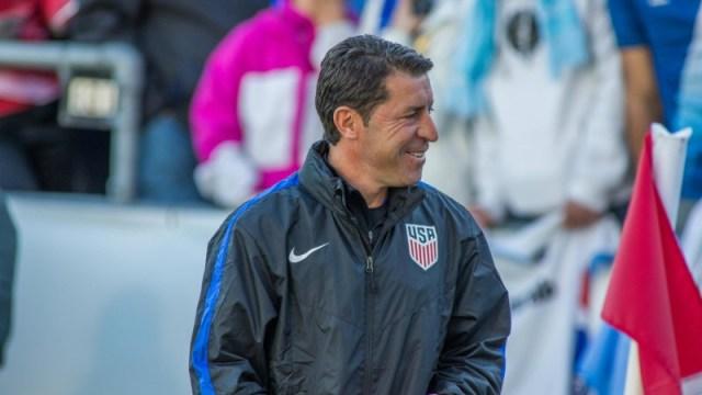 USA Soccer's Tab Ramos