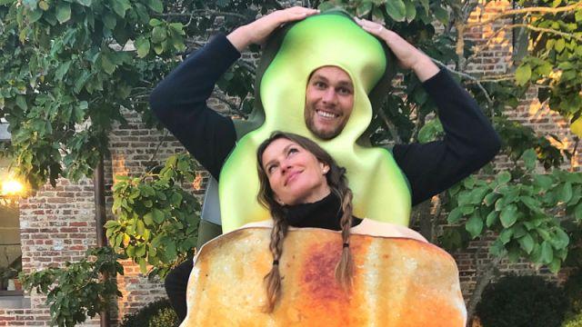 New England Patriots quarterback Tom Brady and Gisele Bundchen