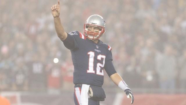 Patriots quarterback Tom Brady