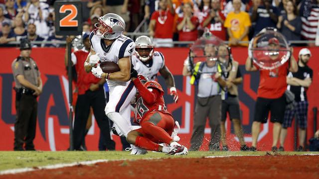 Patriots wide receiver Chris Hogan