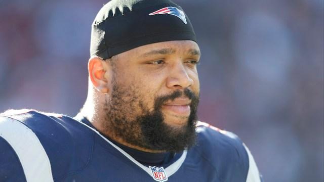 Patriots defensive tackle Alan Branch