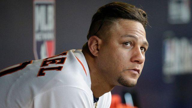 Houston Astros infielder Yulieski Gurriel