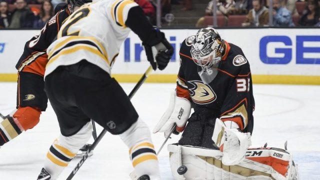 Bruins vs Ducks