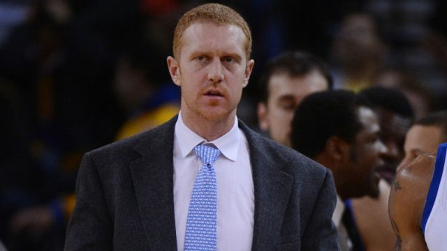 Boston Celtics broadcaster Brian Scalabrine