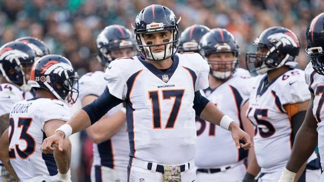 Denver Brocons quarterback Brock Osweiler