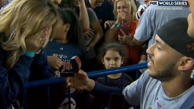 Astros shortstop Carlos Correa