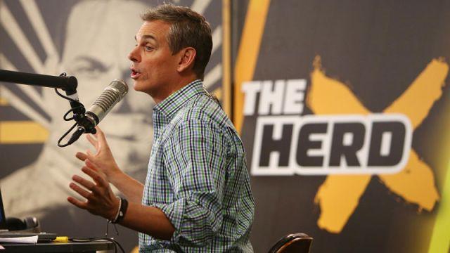 """The Herd"" host Colin Cowherd"