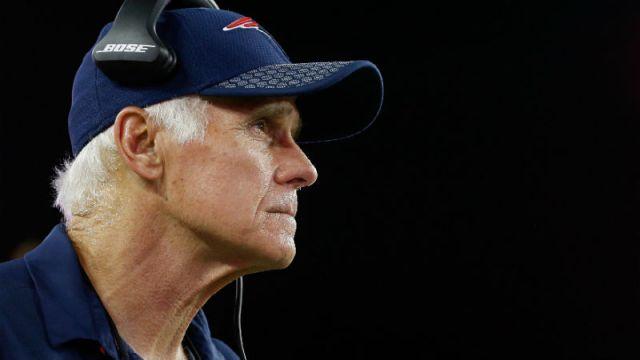 New England Patriots offensive line coach Dante Scarnecchia