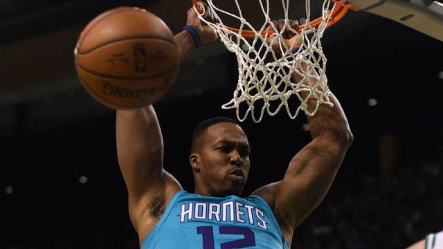 Charlotte Hornets center Dwight Howard