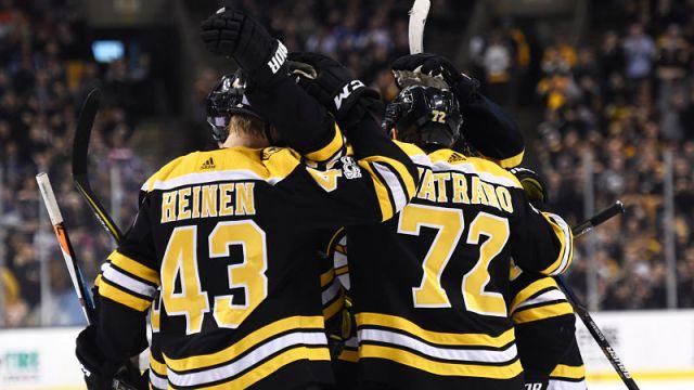 Boston Bruins winger Frank Vatrano